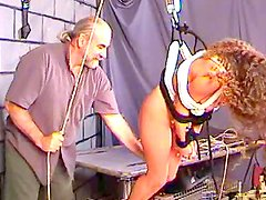 Young babe receives nasty punishment