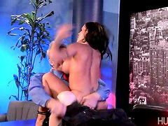 During the show, Evan Stone becomes enthralled with the lewdness and forwardness of Jenna Presley.