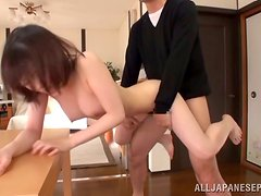 Airi Suzumura lets her BF play with her coochie before he fuck it