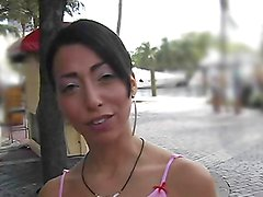 Slutty Latina's fucked by a big cock up her tight pussy