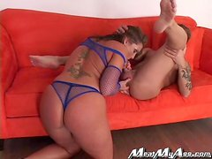 Nice slippery sex with a booty girl Flower Tucci