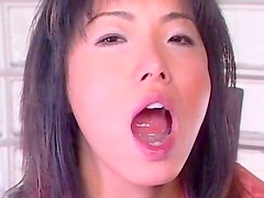 Japanese receives a hard fuck