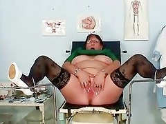 Mature Bbw Wife Is Fingering Her...