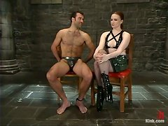 Prisoner Of A Sex Dominatrix Survives To Tell The Tale!