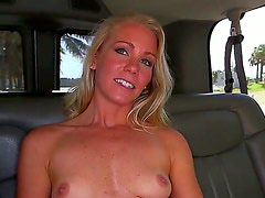 Sonny Stone is a gorgeous blonde who -- lucky us -- is wiling to do just about