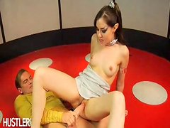 """Sasha Grey plays a Vulcan stricken with the """"sickness"""". The only way she can find satisfaction is to FUCK!"""