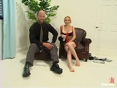 Strapon Fun and Fucking Machine Action in Cock Torutre Femdom Vid
