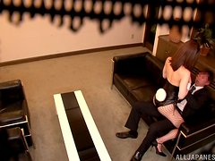 Security camera tapes a whore riding her client