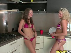 Nasty Mia Malkova And Friend In Lesbian Action