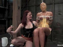 Kinky Annie Cruz gets toyed with a strap-on and humiliated