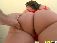 Ass Fingering While She Rides That Long Hard Cock