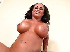 Kerry Louise her huge melons is fucking