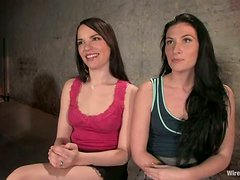 Ariel X and Dana DeArmond Dominated in Lesbian Femdom Threesome