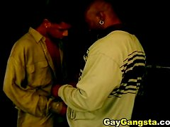 Black gay blowjob orgy with hot guys