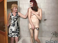 Naughty time with son's girlfriend