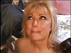 Papa - Blonde Cougarr Drains Two Lucky Bros