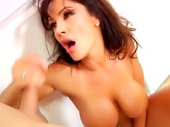 Busty Lisa Ann fuck and facial