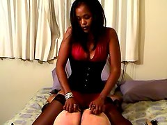 Vicious spanking and ass whipping