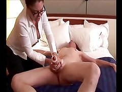2 Handed Shaft Milking Handjob Cumshots - Pornstars Vol. 1