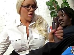 Old but still HOT white MOM fucked by black in ass
