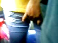 TOUCH ASS YELLOW WIFE IN THE BUS 1