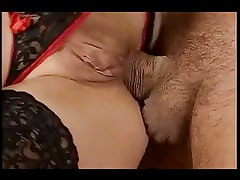 German Fisting anal fuck foursome