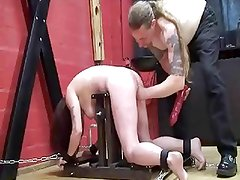 Fisted Chained Slave