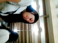 BOSO cute little teen protecting her pussy from intruders