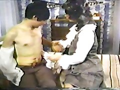 Classic 70s Porn - Virgin learns about sex from his aunt