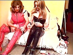 Alison Thighbootboy and Billie - Fetish Trannies