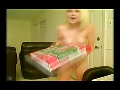 Holly Hanna Shocks Pizza Boy