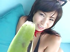 -Softcore- Mayuka banana bj kitty kat