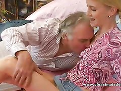 Horny Old Professor Fuck Slut With Tiny Tits