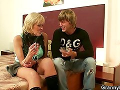 Stud picks up an old prostitute and bangs her