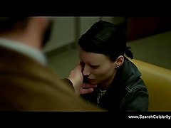 Rooney Mara nude - The Girl with the Dragon Tattoo (2011)