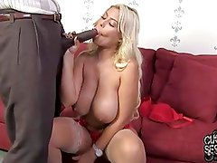 Slut wife owned by BBC in front of faggot boyfriend