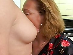 mature and young lesbians strap on