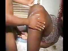 hardvideostube com Black man tearing into young tight pussy