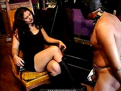 Whipping a male slave is pure pain