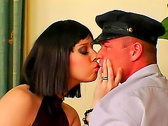 Mistress gets pussy pleasure from him