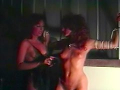 Kinky chicks in retro BDSM video