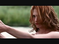 January Jones Extended Topless Scene In Sweetwater (HD)