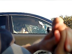 Car flash in traffic 2