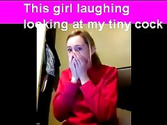 Embarrasing humiliation by a girl watching me on cam