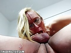 Hot Blonde Milf In Extra Hardcore Gagging Stolen Sextape