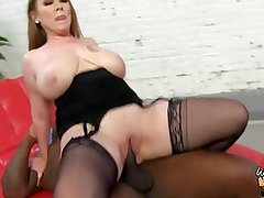 Mom pays sons debt with her pussy