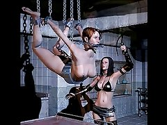 Aggressive and sexy 3d women in kinky scenes by Eroginous