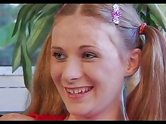 Freckles Redhead Ponytail Teen Alison Fucked
