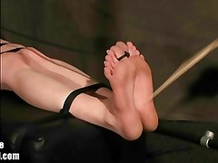 Foot Whipping Armpit Tickling