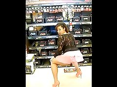 Caramel Kitten Twerking by the Batteries Walmart